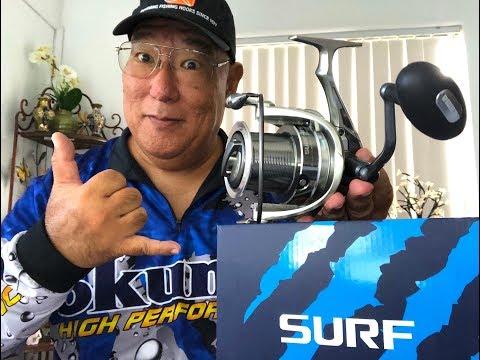 Big! Bigger! BIGGEST Okuma Distance Surfcasting Spinner Yet For 2019!