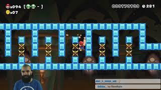 Clutch or Kick | 100 Mario Super Expert Unedited [Twitch Run #4]