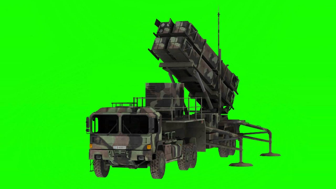 military super secret weapon in green screen free stock footage - YouTube
