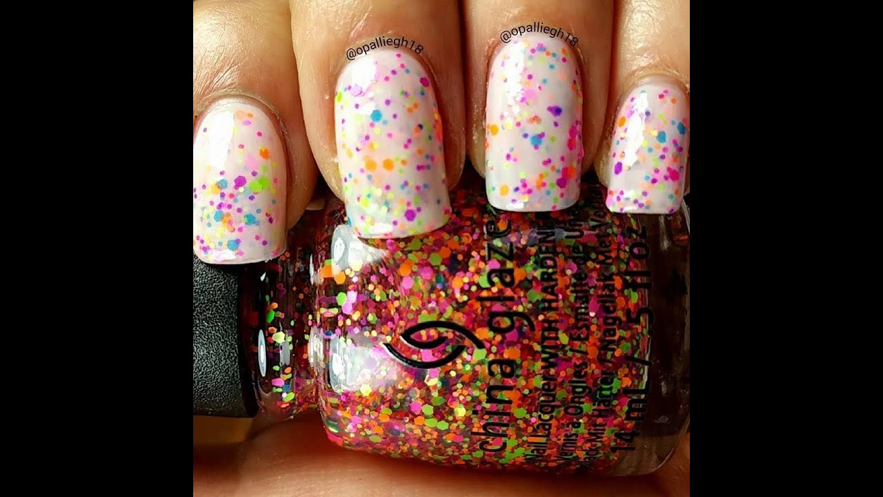 crelly polish- make your own - china glaze - point me to the party ...