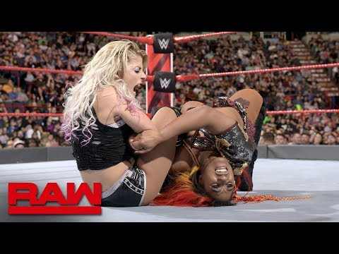 Ember Moon vs. Alexa Bliss: Raw, May 21, 2018