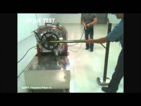 Vengeance Power Engine running on compressed air.
