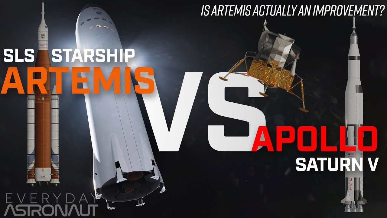 "Artemis VS Apollo: Is NASA's Artemis program actually ""sustainable?"""