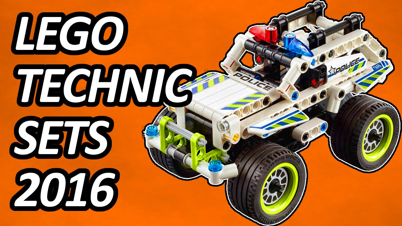lego technic 2016 small sets pictures youtube. Black Bedroom Furniture Sets. Home Design Ideas