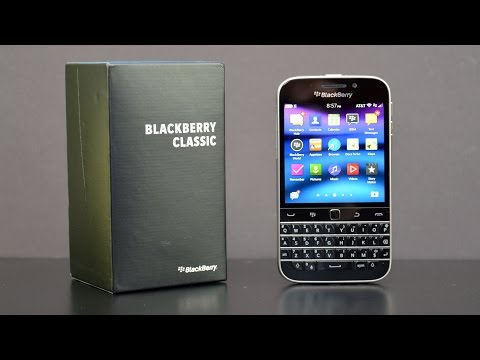 Blackberry Classic: Unboxing & Review