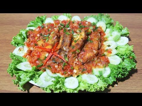 Fried Fish With Tomato Sauce - Food Recipe