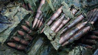 Патроны из болота как новые ! Раскопки Второй мировой N 60 \  Searching relics of WW2 N 60 #SUBS