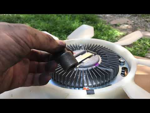 Wreck my car | DIY | 4D56 Clutch Fan Install | Mitsubishi Adventure | Day & Night Cycling |