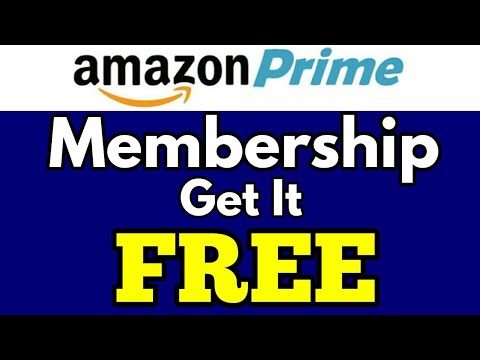 how to get free prime membership amazon in