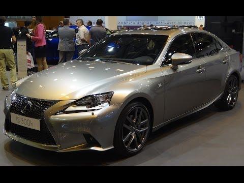 Lexus IS 300h F Sport at Madrid Motor Show 2014 | AutoMotoTV