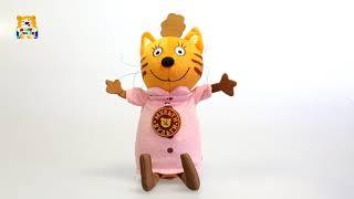 Озвученная мягкая игрушка из мультика «Три кота» - Мама Кошка, 20 см