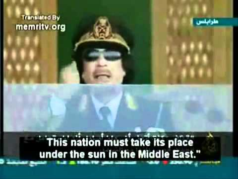 Muammar al-Gaddafi about Kurds