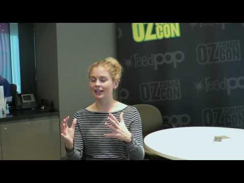 iZombie's Rose McIver  at Oz Comic Con