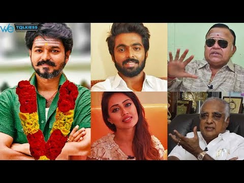 Thalapathy Vijay's Birthday Special - Celebrities Open Talk About Vijay | Must Watch