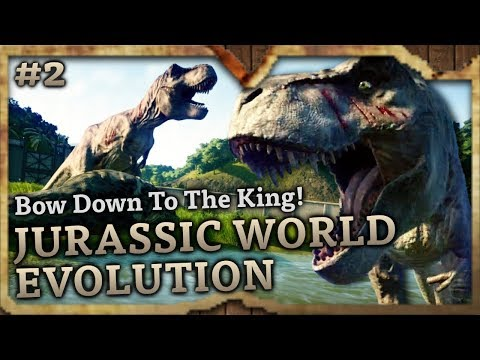 Bow Down To The King! 💀 Jurassic World Evolution Highlights #2