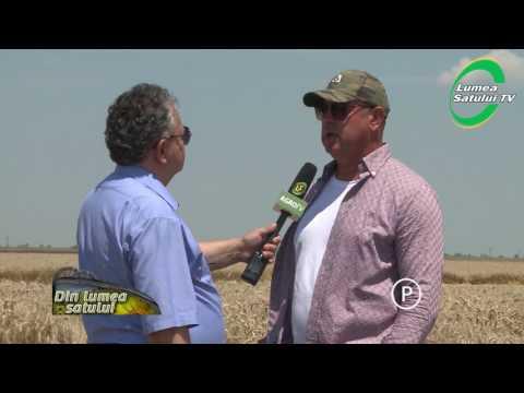 Noua combină Deutz Fahr la recoltat în Teleorman