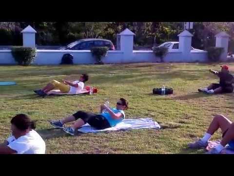 Outdoor Fitness Bahamas kickboxing 4 EP