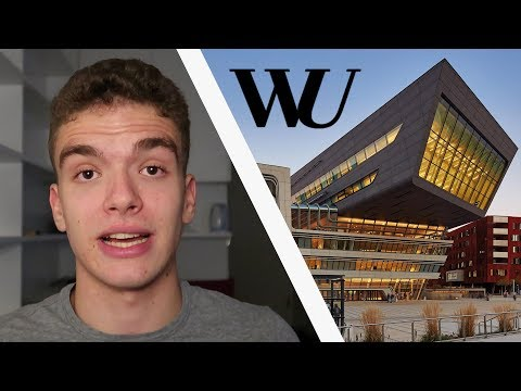 How I Got Admitted to WU - Vienna University of Economics and Business