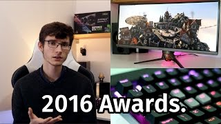 The PC Gaming Tech Awards 2016!