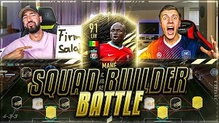 FIFA 21: Most Wanted MANE INFORM SQUAD BUILDER Battle 🔥🔥 FeelFifa vs Wakez