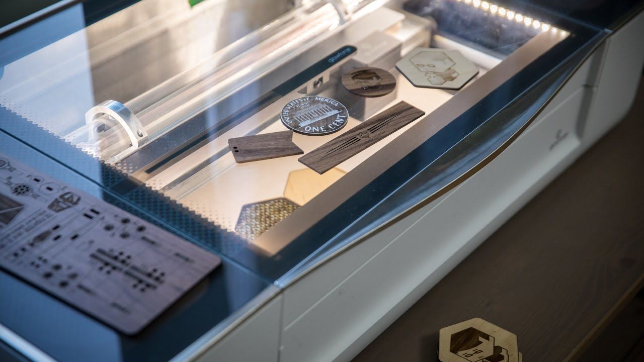 Hands On With The Glowforge Laser Cutter Youtube
