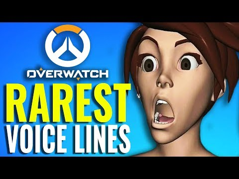 Rarest Voice Lines in Overwatch from Tracer, D.Va, Winston, McCree & More