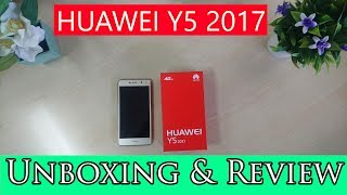 Huawei Y5 2017 Unboxing And Review !