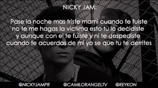 SECRETOS REMIX (LETRA) - REYKON FT NICKY JAM