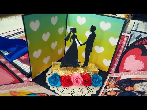 Wedding gift for brother | Handmade anniversary gift for couple| Diy gift handmade explosion box