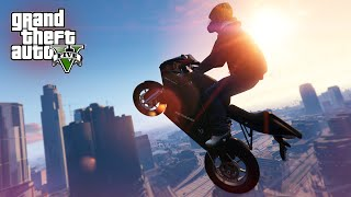 INSANE MOTORBIKE STUNT! - (GTA 5 Top 5 Stunts)