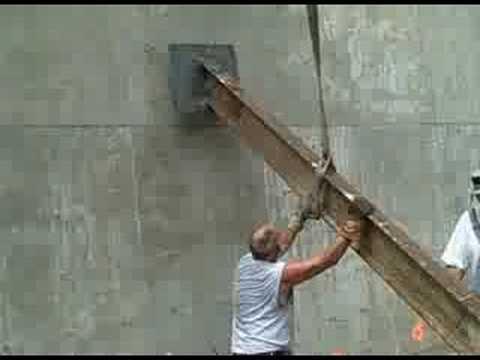 Bracing A Concrete Wall Youtube