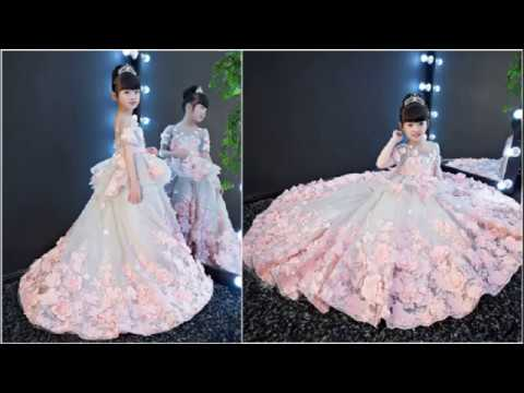 Most Beautiful Dresses For Baby Girls 2018 | Stylish Kids Gowns  | Party Dresses Baby Girl in India