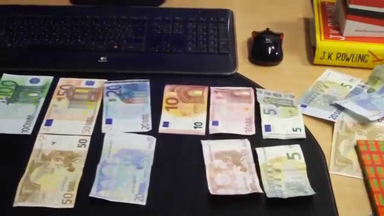 Euros Money Coins And Notes Explained For Travellers Euro