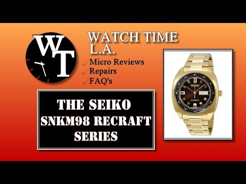 Seiko SNKM98 Full Review (SNKM97)
