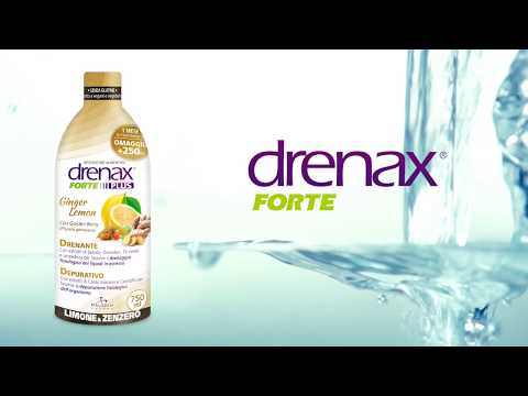 Drenax Ginger Lemon - Il drenante amato dagli italiani