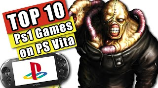 Top 10 PS1 Games to Play on PS VITA