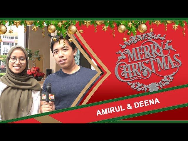 Merry Christmas, Amirul & Deena