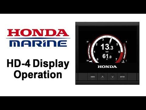 Marine HD-4 Display Operation