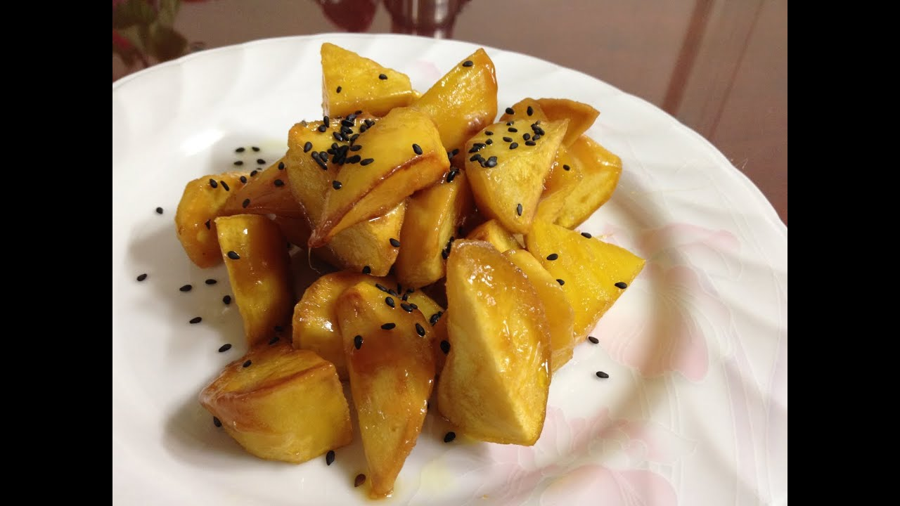 59 1 Candied Sweet Potatoes Youtube