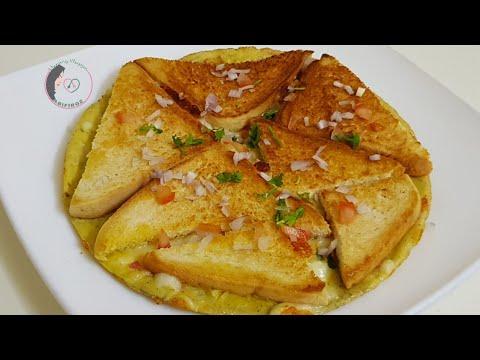 ചായേടെ കൂടെ കഴിക്കാൻ ഇതൊരെണ്ണംമതി,ആർക്കും എളുപ്പം തയ്യാറാക്കാം|tasty bread Omlette