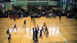 全港學界排球精英賽2010-2011年度(男子組)冠軍戰 part a