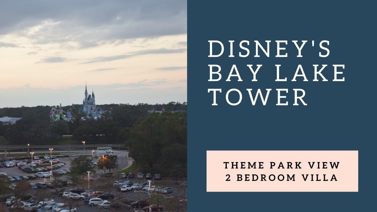 Disney's Bay Lake Tower - 2 Bedroom Villa (Dedicated ...
