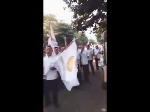 SERUNYA Aksi Damai Perawat Honorer Se Indonesia Menuntut Agar diangkat PNS