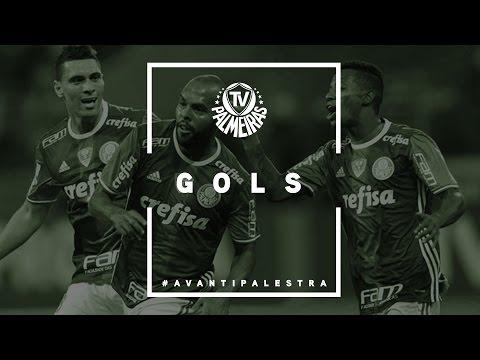 Gols - Palmeiras 2 x 0 Fluminense - Campeonato Brasileiro 2016