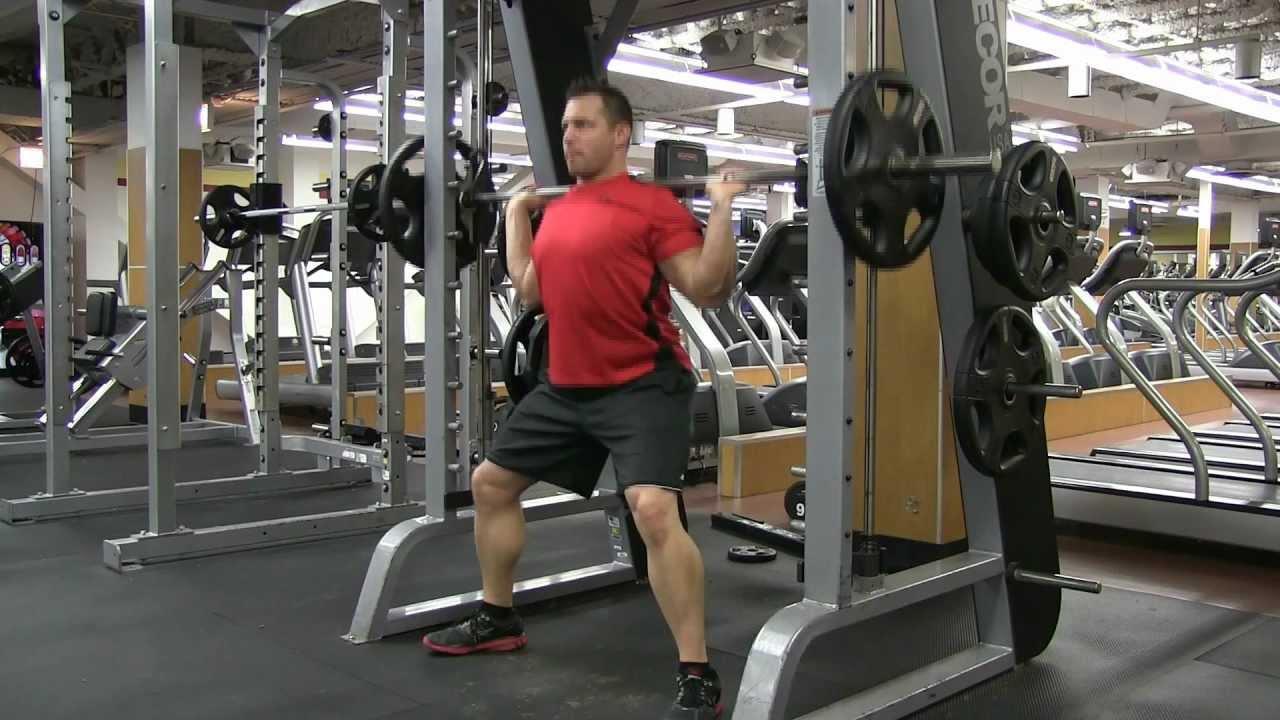 squatting machine
