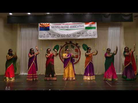 AZ Telugu association Diwali  2017- Ladies Dance