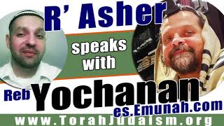R' Asher speaks with Reb Yochanan