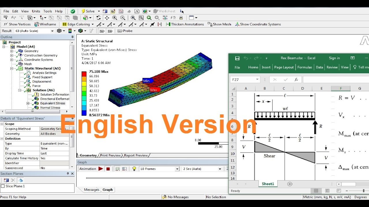 Elasticity Analysis & Parametric Design On Ansys | GrabCAD Tutorials