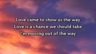 Britt Nicole - The Lost Get Found - Instrumental with lyrics