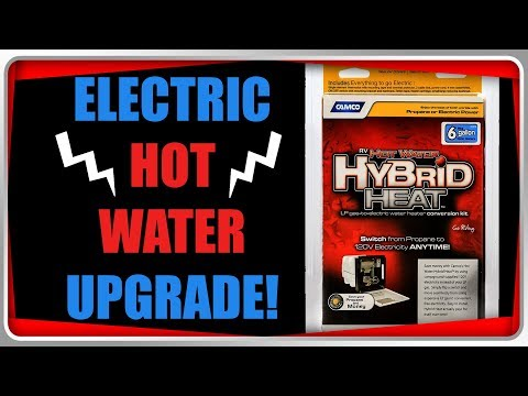 Add Electric To Your Propane Rv Water Heater Camco Hybrid Heat Step By Step Installation Youtube